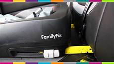 maxi cosi family fix base car seat fitting