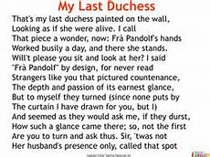 my last duchess 40 slide powerpoint and 11 worksheets by teacher of primary teaching