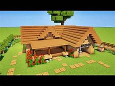 Minecraft Tuto Comment Faire Une Starter House
