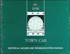 automotive repair manual 1998 lincoln town car transmission 1998 lincoln town car electrical and vacuum troubleshooting manual 98 original ebay