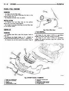 download car manuals 1995 dodge neon transmission control dodge neon 2004 2005 sxt srt4 factory service manual cars service manuals