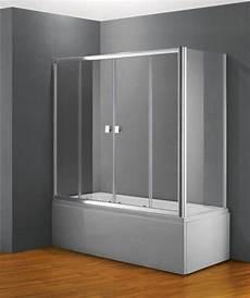 cabine sur baignoire paroi de baignoire coulissante frontale en verre pas cher