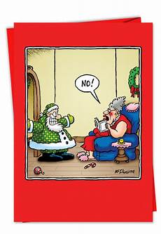 rude tangle free lights christmas card quot nobleworkscards com