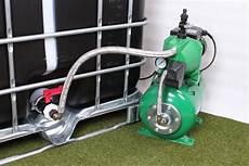 Utiliser Une Pompe Avec Ma Cuve D Eau De Pluie Negomix