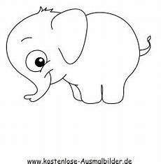 Ausmalbilder Hase Und Elefant Ausmalbild Elefant Zum Kostenlosen Ausdrucken Und Ausmalen