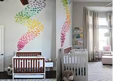wandgestaltung babyzimmer mädchen die besten 25 ideen f 252 r babyzimmer deko und kreative