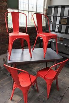 4 ancienne chaise tolix xavier pauchard des annees 50