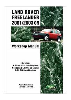 car repair manuals online free 2009 land rover range rover sport on board diagnostic system land rover land rover repair manual freelander lr2 2001 2003 bentley publishers repair