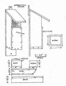 barred owl house plans screech owl house plans owl house bird house plans