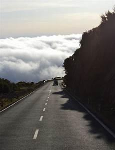 Gambar Pantai Alam Gunung Awan Pagi Jalan Raya