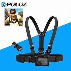 Puluz Adjustable Chest Belt by Puluz Adjustable Mount Belt Chest For Gopro