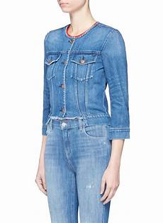 2 stores in stock j brand catesby cropped denim jacket