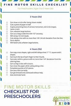 motor skills for 6 year olds worksheets 20678 motor skills checklist for preschoolers ages 3 5 years preschool motor skills