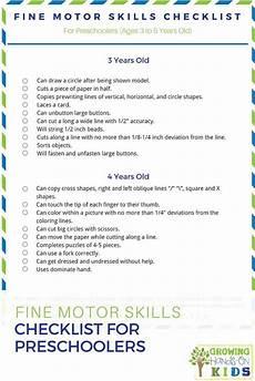 motor skill worksheets for nursery 20660 motor skills checklist for preschoolers ages 3 5 years preschool motor skills