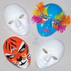 White Plastic Masks Baker Ross