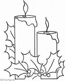 Weihnachtsmalvorlagen J Coloring Pages Candle Mit Bildern
