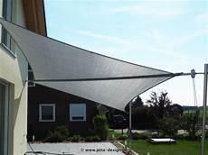 sonnensegel manuell aufrollbar flexibler sonnenschutz