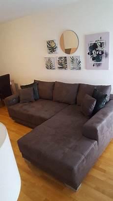 couch braun wildleder sofa couch braun 2 60x2 00 kaufen auf ricardo