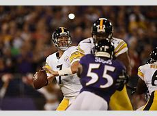 ravens vs steelers game live