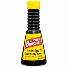 Kitchen Bouquet Spice Ingredients by Kitchen Bouquet Browning Seasoning Sauce 4 Ounces 4 Fl