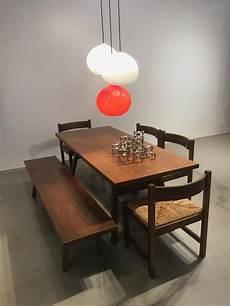 sitzbank esstisch esstisch mit sitzbank st 252 hlen 1960er bei pamono kaufen