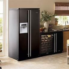 frigo americain noir mat refrigerateur americain noir mat choix d 233 lectrom 233 nager
