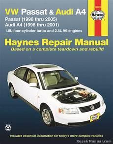 car repair manuals download 2005 audi s4 free book repair manuals haynes vw passat 1998 2005 audi a4 1996 2001 auto repair manual