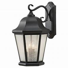 sea gull lighting martinsville extra large 12 in w 4 light black outdoor 20 in wall
