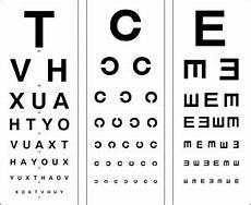 Snellen Eye Examination Chart Snellens Charts A Peek Into Your Eyes