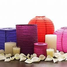 diy centerpieces paper lanterns wedding dish