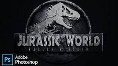 Malvorlagen Jurassic World Fallen Kingdom Jurassic World Fallen Kingdom Logo Design In Adobe