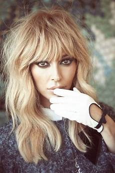 Feathered Bangs Hairstyles