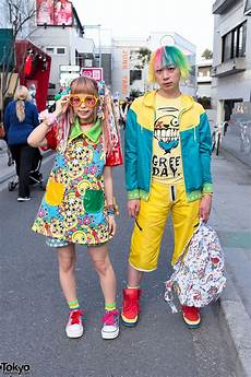 kawaii 90884 colorful hair n dazzle donut watch in harajuku