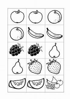 Kinder Malvorlagen Memory Sammlungen Mit Memory Karten Semantisches Feld Obst