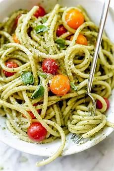 easy homemade pesto pasta recipe foodiecrush com