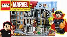 photo de lego lego marvel sancta sanctorum showdown set 76108 infinity wars