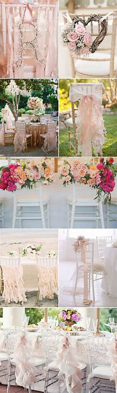 30 creative chair decor ideas for spring weddings diy wedding decorations wedding chairs