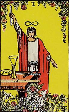 Der Magier Tarot - i the magician rider waite tarot by a e waite