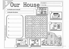 worksheets rooms 19037 our house 03 worksheet free esl printable worksheets made by teachers