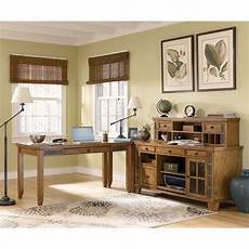 small home office furniture sets kinley home office set w small hutch credenza signature