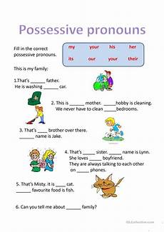 possessive pronouns worksheet free esl projectable worksheets made by teachers