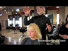 dramatic long hair cut short makeover by christopher makeover 36 pretty gray wavy hair by christopher hopkins the makeover guy 174 dramatic makeover