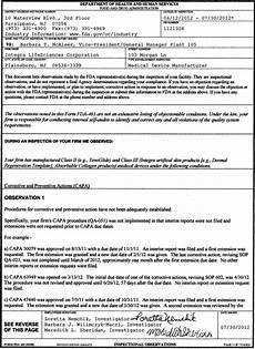download fda form 482 template free masterergo
