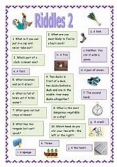 riddles worksheets 10881 riddles worksheets