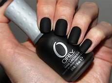 nagellack matt schwarz selber machen matte schwarze