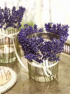 Tischdeko Mit Lavendel Speisen Wie In Der Provence