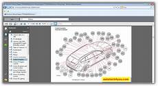 volvo cars wiring diagrams 2011 service spare parts catalog