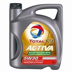 huile moteur total activa 9000 future nfc 5w30 essence 5 l