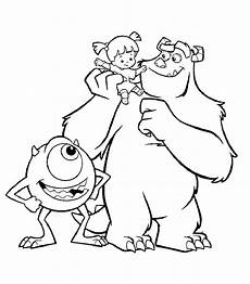 Malvorlagen Inc Disney Coloring Page Monsters Inc Sulley And Mike With