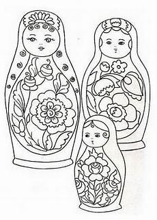 matroschka 8 ausmalbilder matroschka ausmalbilder kinder